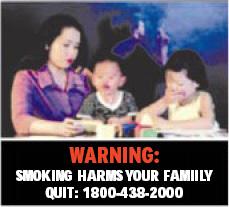Singapore 2003 ETS children - lived experience, children, targets parents